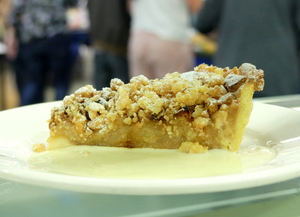 Tarta Apple crumble