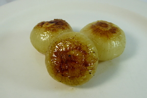 Little glazed onions