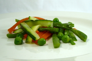 Mixed vegetables sticks