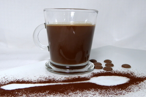 Hot chocolate sauce