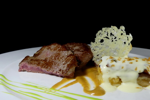 Filet mignon al queso idiazabal