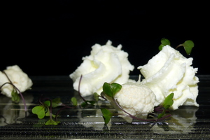 Cauliflower foam