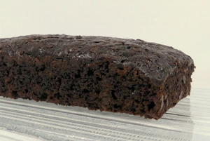 Chocolate courgette sponge cake