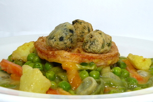 Menestra (vegetables stew)