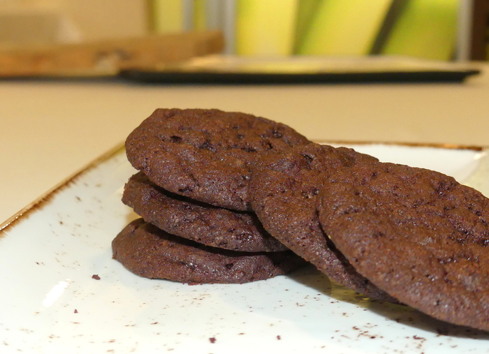 W700 cookies de chocolate