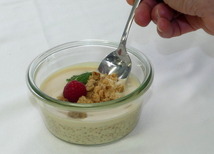 Quinoa with milk