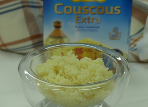 Couscous garnish