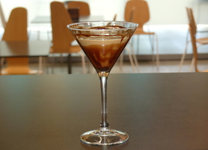 Cóctel Chocolate Martini