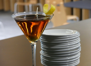 Semi-dry Martini Cocktail