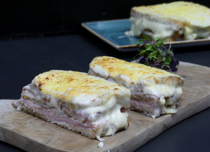 Croque Monsieur sandwicha